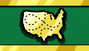 Image of the USA