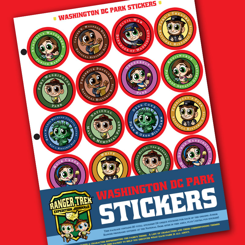 Ranger Trek™ Regional Sticker Sets