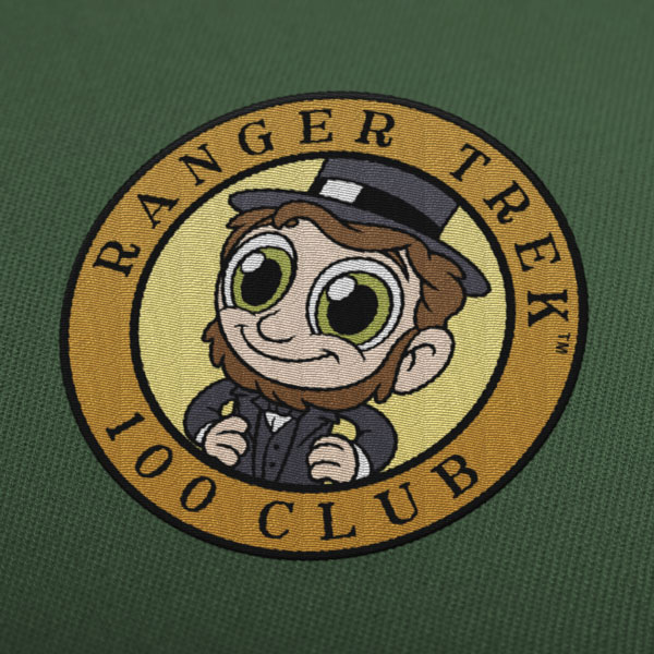 "Ranger Trek™ 100 Club 3.5"" Patch"