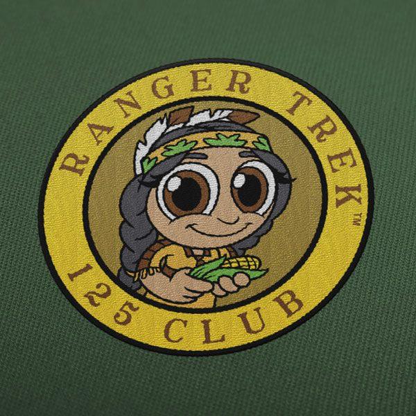 "Ranger Trek™ 125 Club 3.5"" Patch"