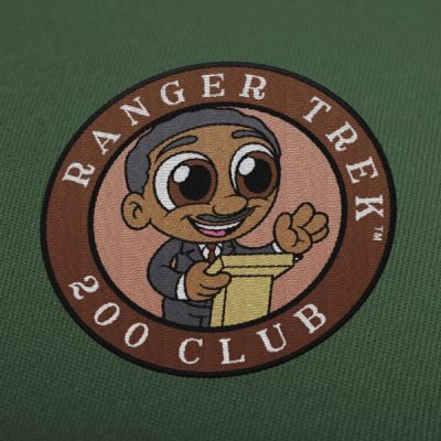 "Ranger Trek™ 200 Club 3.5"" Patch"