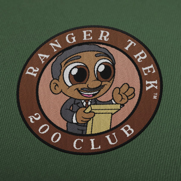 "Ranger Trek™ 200 Club 3.5"" Patch"