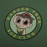 "Ranger Trek™ 400 Club 3.5"" Patch"