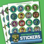 Ranger Trek™ Northeast State Park Stickers