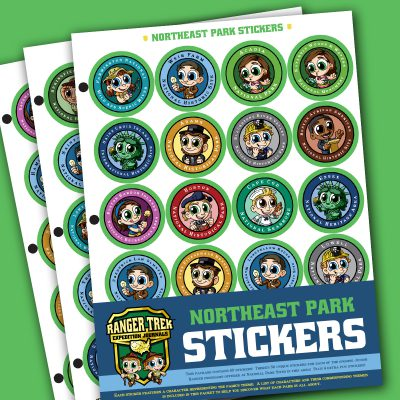 Ranger Trek™ Northeast State Park Stickers