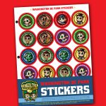 Ranger Trek™ Washington DC Area Park Stickers