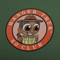 "Ranger Trek™ 50 Club 3.5"" Patch"