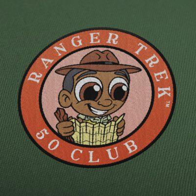 "Ranger Trek™ 50 Club 3.5"" Patch"