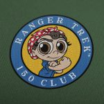 "Ranger Trek™ 150 Club 3.5"" Patch"