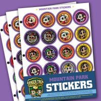 Ranger Trek™ Mountain State Park Stickers