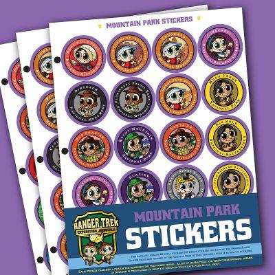 Ranger Trek™ Mountain State Park Stickers