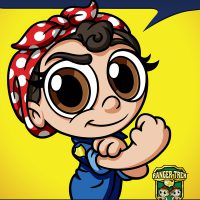 Ranger Trek - Rosie the Riveter - You Can Do It! - Become a Junior Ranger! - Sticker
